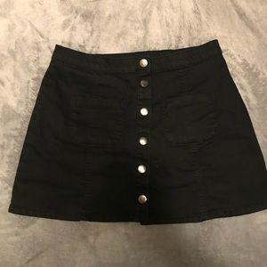 Like new retro h&m denim skirt